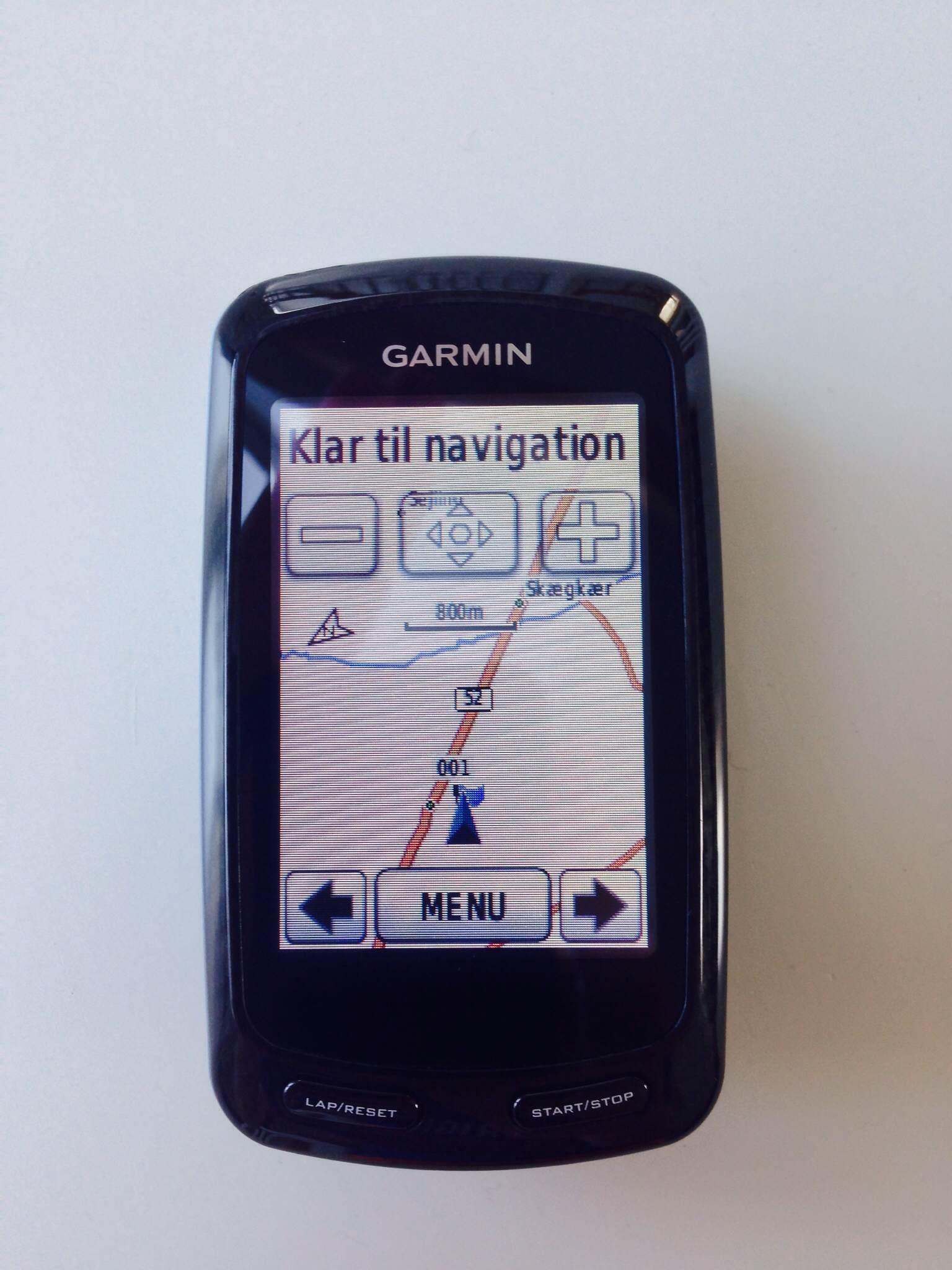Garmin Edge 800 Test Hvor God Er Denne Cykelcomputer Fra Garmin